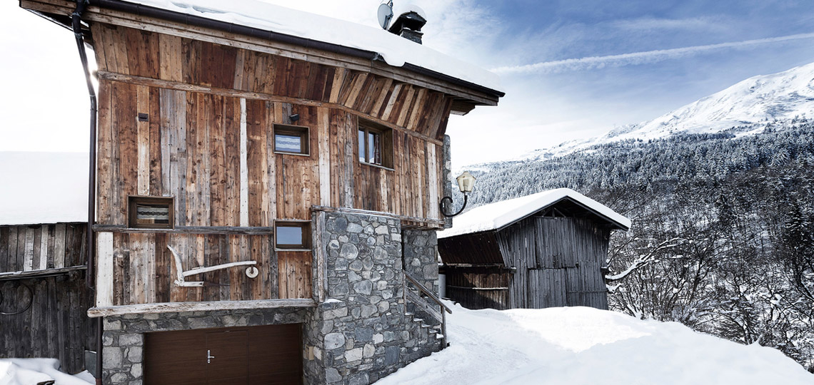 Chalet Blanche exterior