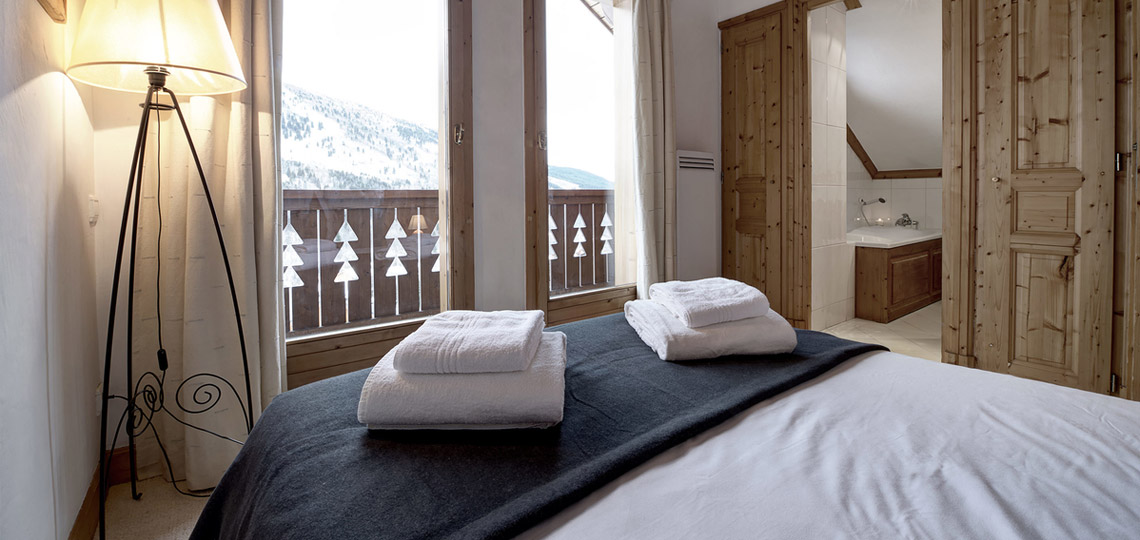 Chalet Epena bedroom