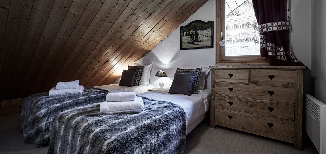 Chalet Le Lachat bedroom