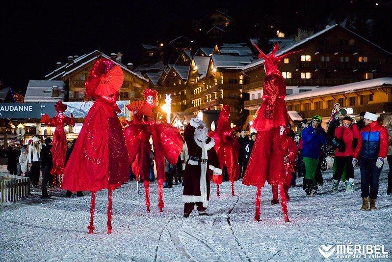 Meribel Christmas Parade