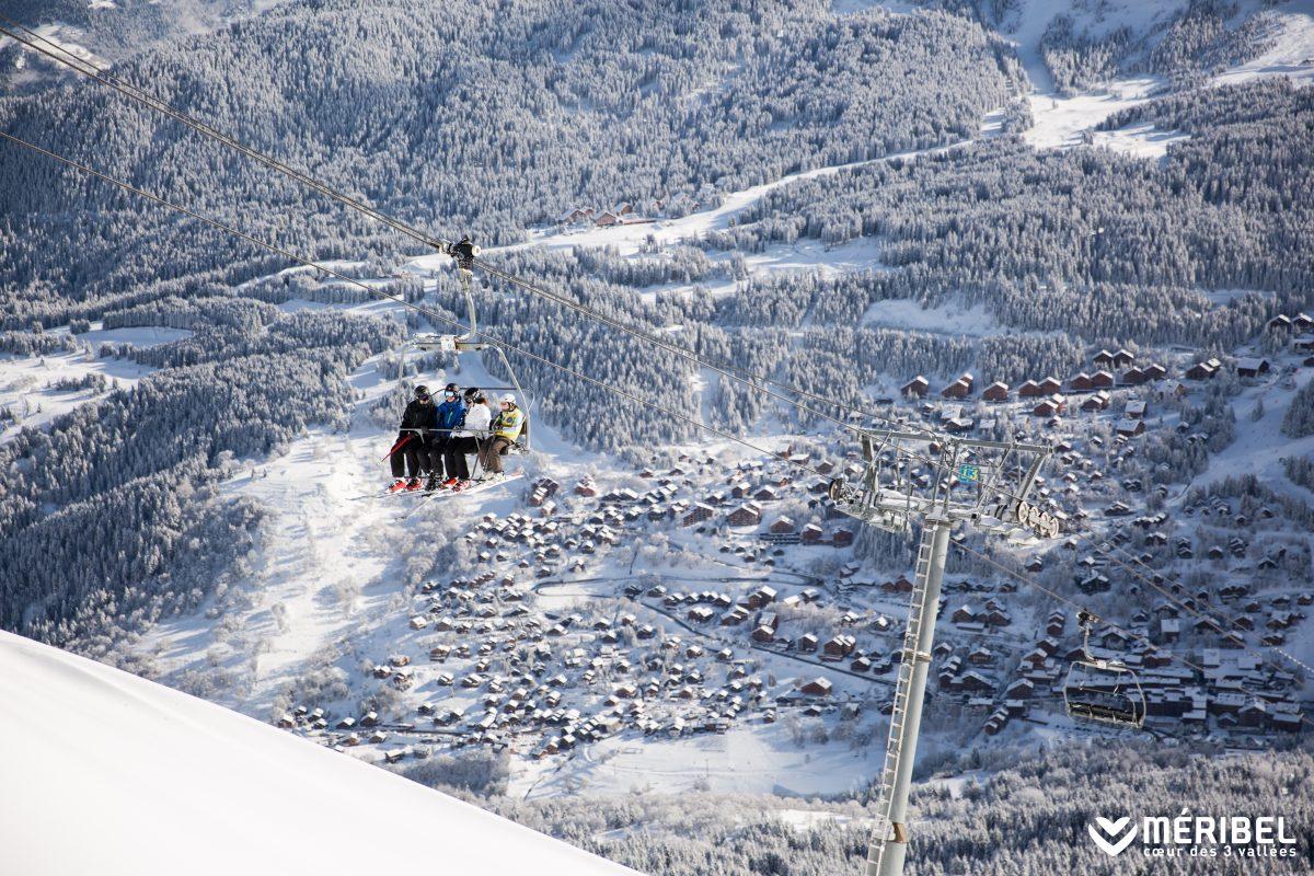 Social skiing