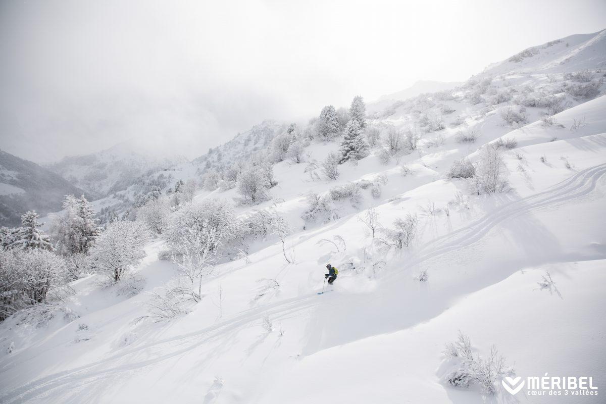 Snow in Meribel