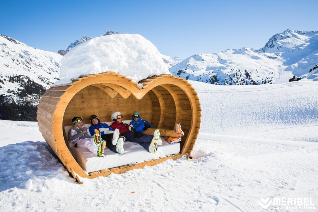 New cosy snugs in Meribel 2020