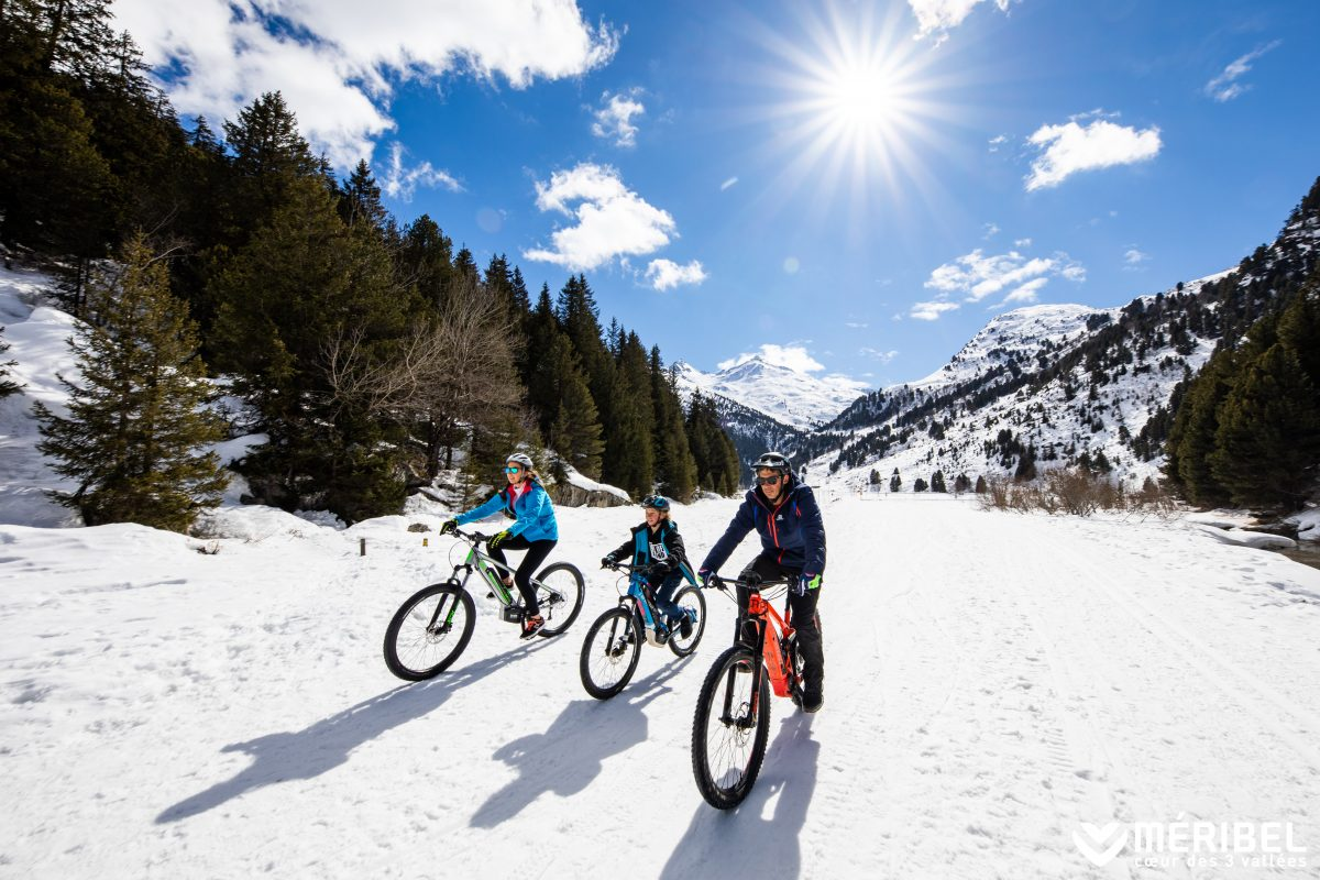 Fat Biking in Meribel