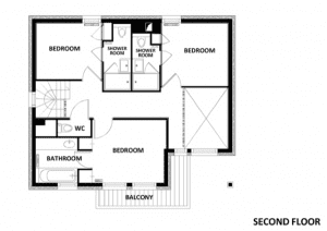 Chalet Epena 2nd floor floorplan