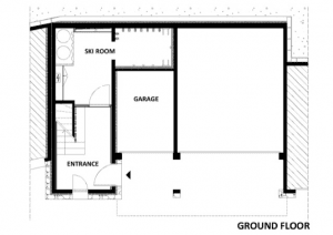 Chalet Epena Ground Floor Floorplan