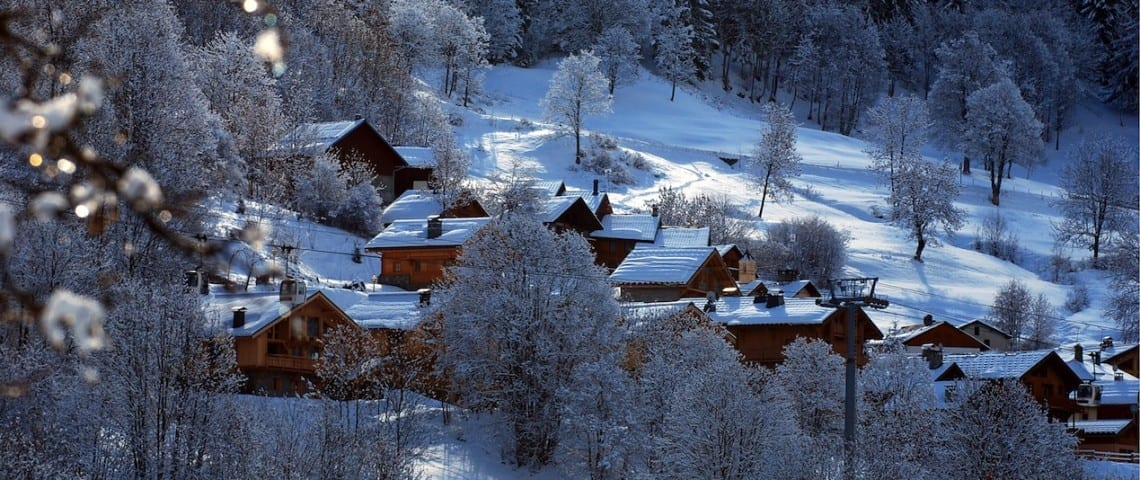 Top Ski in/Ski Out Chalets in Meribel