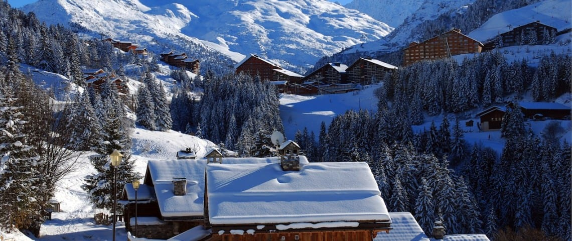 Ski Basics - Ski Chalets in Meribel 023
