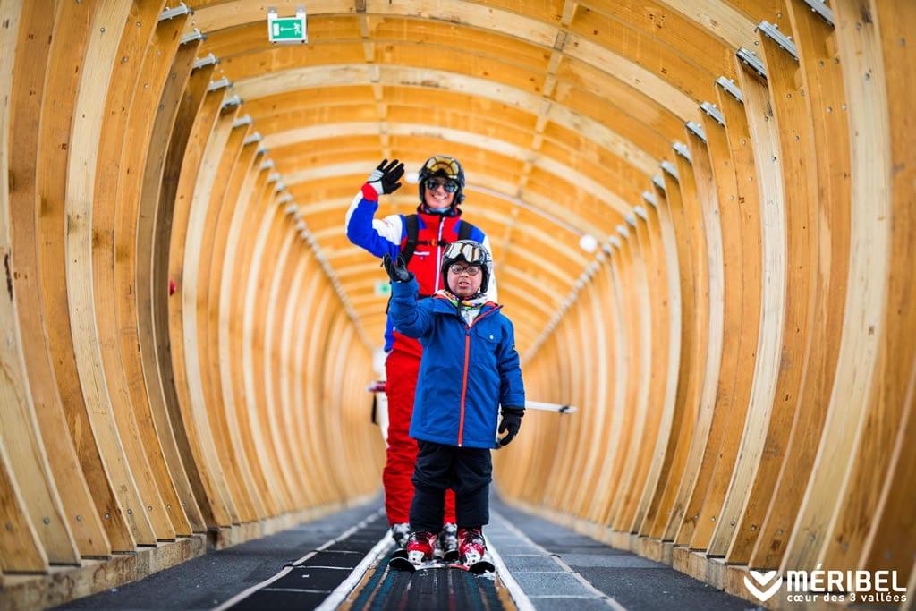 New and Improved Meribel Ski Lifts