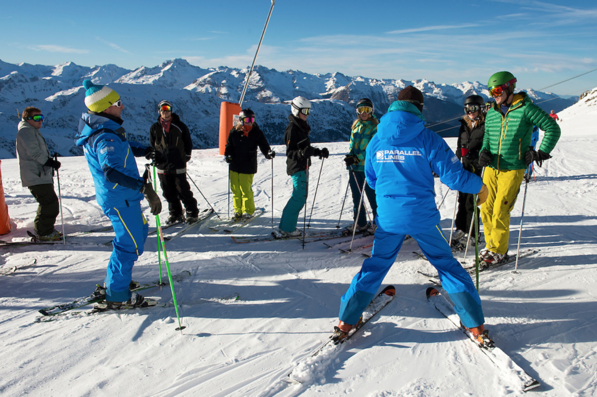 Reduce your costs with afternoon ski lessons