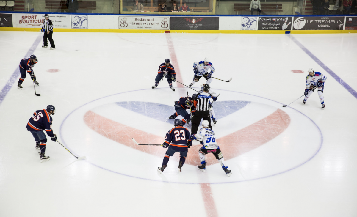 Ice hockey - Parc Olympique