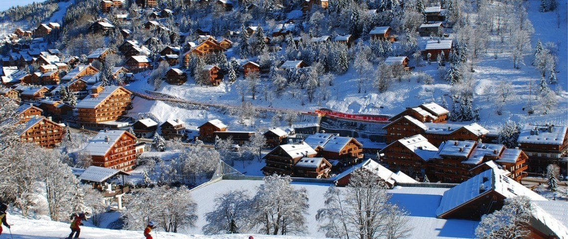 New Developments in Meribel 01