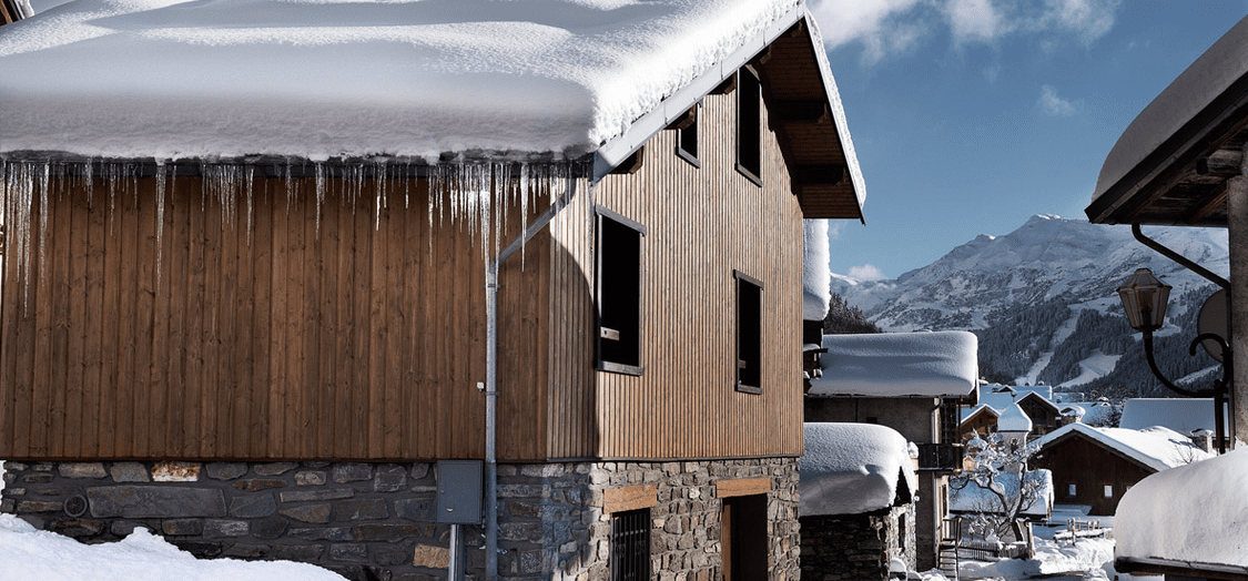 ski in/ski out chalet in meribel