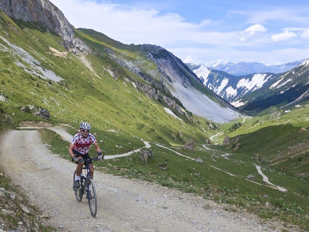 Biking in Meribel 01