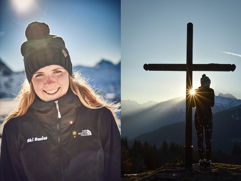 Chalet Manager Abi Brown