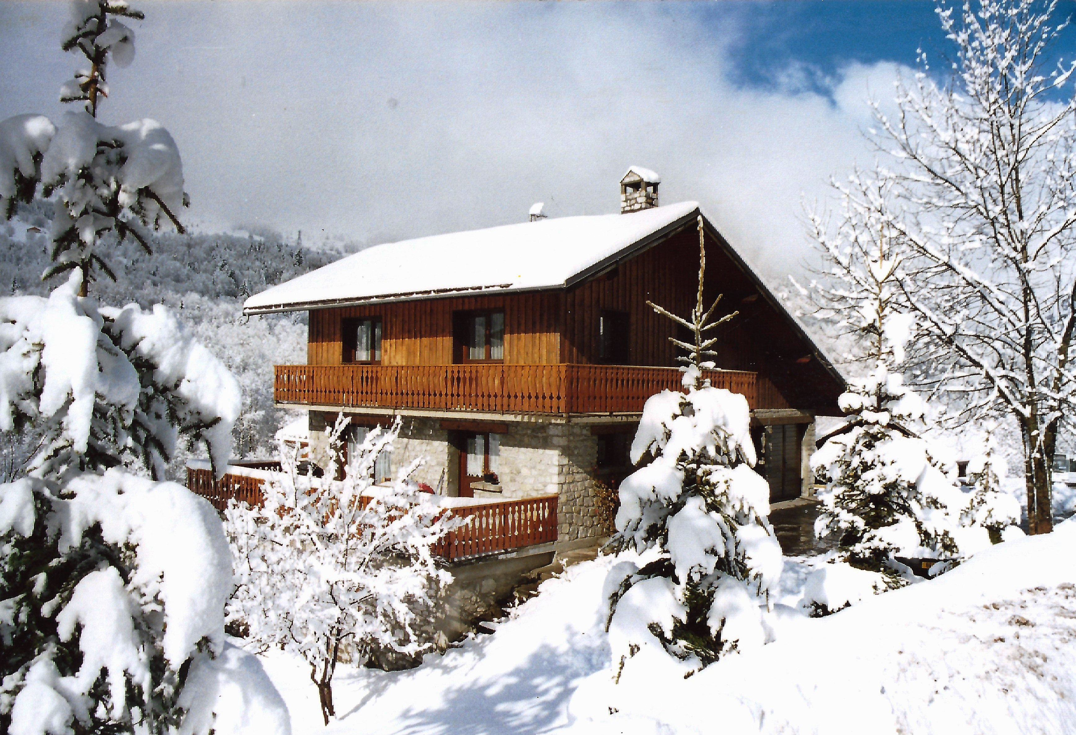 gorgeously cosy self catering chalet in meribel