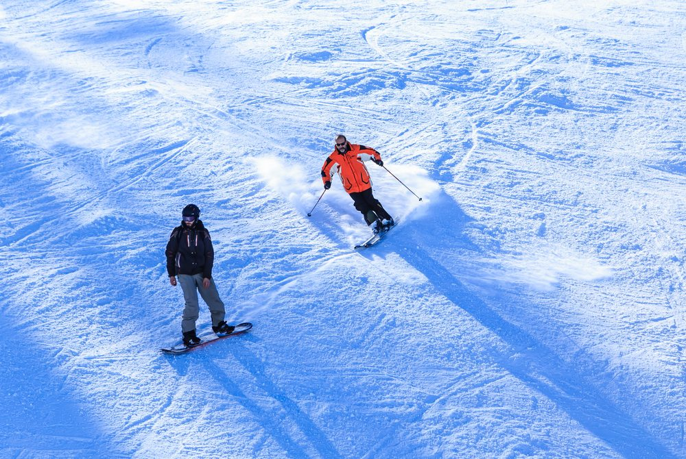 learn how to ski in meribel