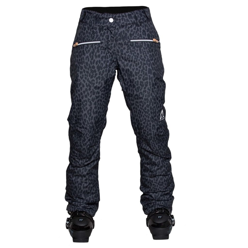leopard ski pants for women