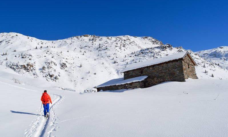 skiing in meribel when pregnant