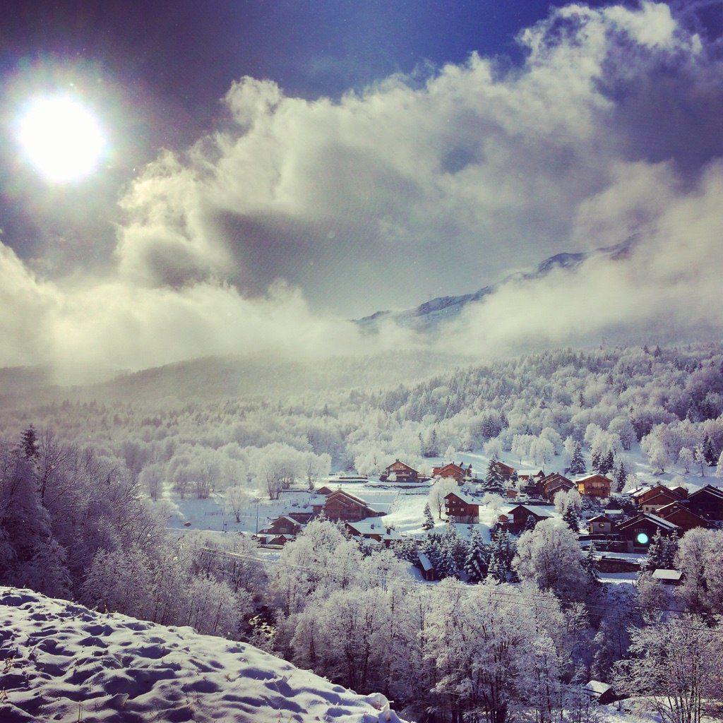 First Snow Report best catered ski chalet in meribel